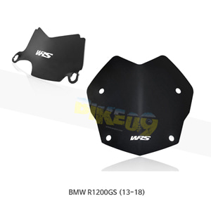 BMW R1200GS (13-18) WRS 윈드스크린 랠리 매트 블랙+CENTRAL 디플렉터 BM045NO+BM011NO