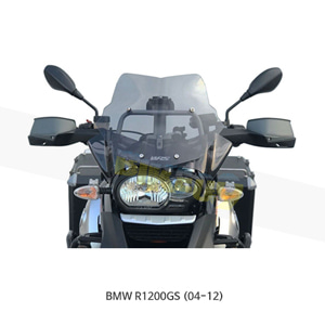 BMW R1200GS (04-12) WRS 할로겐 램프용 윈드스크린 랠리 EVO 스모크 BM033F