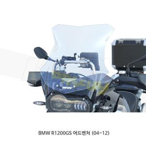BMW R1200GS 어드벤처 (04-12) WRS LED용 윈드스크린 SPORT EVO 클리어 BM034T-LED