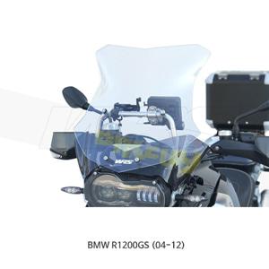 BMW R1200GS (04-12) WRS LED용 윈드스크린 SPORT EVO 클리어 BM034T-LED