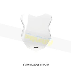 BMW R1250GS (18-20) WRS 윈드스크린 INTERMEDIO 클리어 BM009T