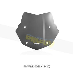 BMW R1200GS (18-20) WRS 윈드스크린 엔듀로 다크 스모크 BM026FS
