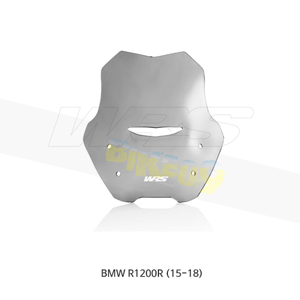 BMW R1200R (15-18) WRS 윈드스크린 Sport 교체 스모크 BM027F