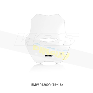 BMW R1200R (15-18) WRS 윈드스크린 Sport 클리어 BM027T