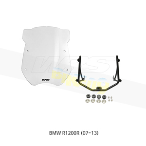 BMW R1200R (07-13) WRS 18인치 윈드스크린 4.5mm 두께 클리어 BM003T+BM202N