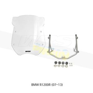 BMW R1200R (07-13) WRS 18인치 윈드스크린 4.5mm 두께 클리어 BM003T+BM202A