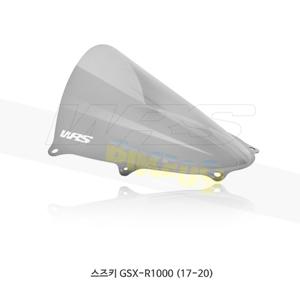 스즈키 GSX-R1000 (17-20) WRS 윈드스크린 레이스 HIGH 스모크 SU001F