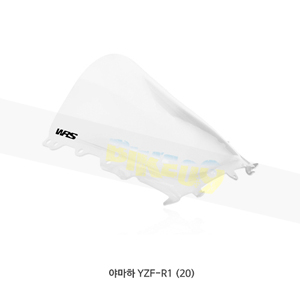 야마하 YZF-R1 (20) WRS 윈드스크린 레이스 HIGH 클리어 YA013T