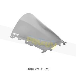 야마하 YZF-R1 (20) WRS 윈드스크린 레이스 HIGH 스모크 YA013F