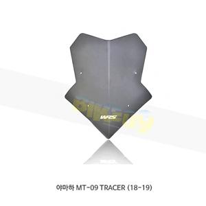 야마하 MT-09 TRACER (18-19) WRS 윈드스크린 SPORT 다크 스모크 YA005FS