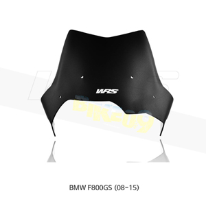 BMW F800GS (08-15) WRS 윈드스크린 SPORT 매트 블랙 BM049NO