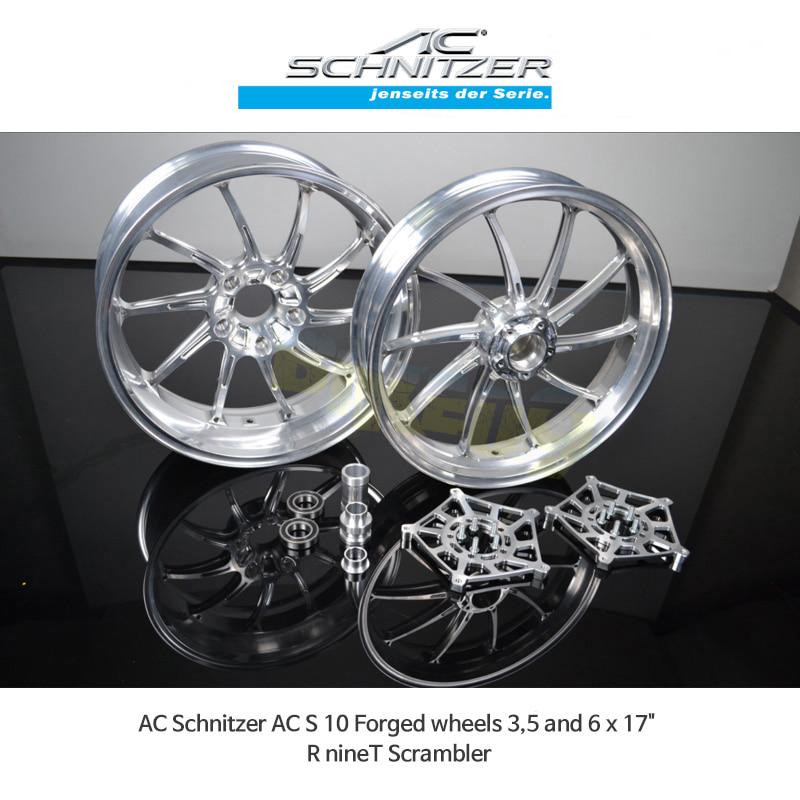 AC슈니처 BMW 알나인티 스크램블러 (17-20) AC S 10 Forged 휠 3,5 and 6 x 17
