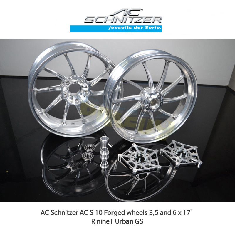 AC슈니처 BMW 알나인티 어반 GS (17-20) AC S 10 Forged 휠 3,5 and 6 x 17