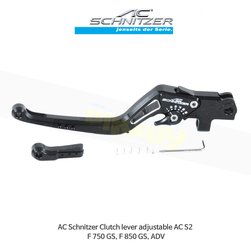 AC슈니처 BMW F750/F850GS/어드벤처 조절식 클러치레버 AC S2