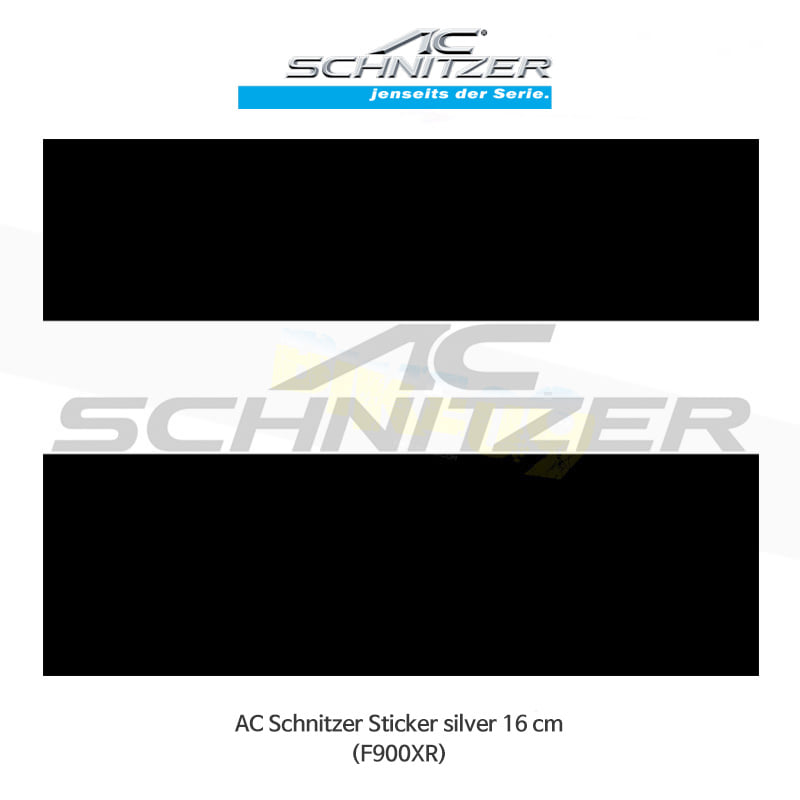 AC슈니처 BMW F900XR 로고 스티커 16cm (실버 색상) S88S