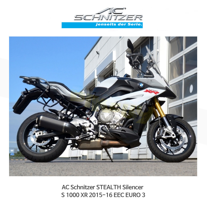AC슈니처 BMW S1000XR (15-16) EEC EURO 3 STEALTH 머플러