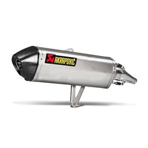 아크라포빅 혼다 SH300 이그저스트 사이렌서 슬립온 이녹스 (16-19) 오토바이 머플러