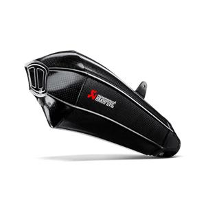 아크라포빅 가와사키 닌자H2/H2R 사이렌서 슬립온 풀 카본 어프루브드 (15-16) 오토바이 머플러