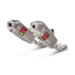 아크라포빅 혼다 CRF450 페어 사이렌서 레이싱 티타늄 (17-19) 오토바이 머플러