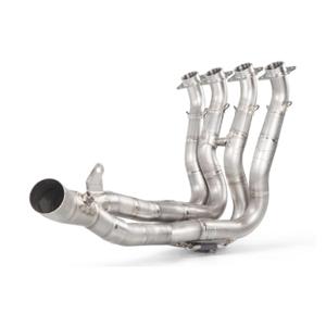 아크라포빅 혼다 CBR1000RR 레이싱 매니폴드 티타늄 (17-19) 오토바이 머플러