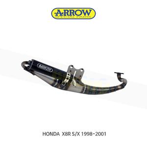 ARROW 애로우 COMPLETE EXHAUST 익스트림 알루미늄 다크/ 혼다 X8R S/X (98-01) 33505EN