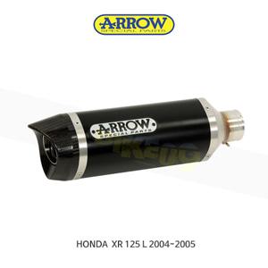 ARROW 애로우 SILENCER 스트리트 썬더 알루미늄 다크/ 혼다 XR125L (04-05) 52501AKN