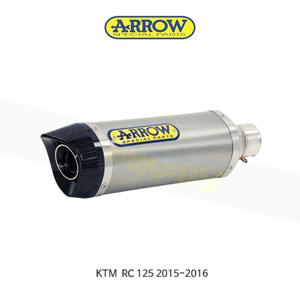 ARROW 애로우 SILENCER 썬더 티타늄/ KTM RC125 (15-16) 71813PK