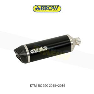 ARROW 애로우 SILENCER 썬더 알루미늄 다크 카본/ KTM RC390 (15-16) 71813AKN