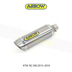 ARROW 애로우 SILENCER 썬더 알루미늄 이녹스/ KTM RC390 (15-16) 71813AO