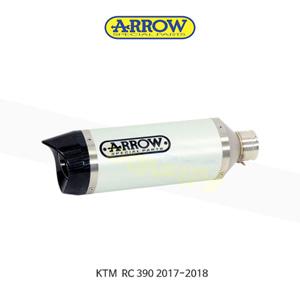ARROW 애로우 SILENCER 썬더 알루미늄 화이트 카본/ KTM RC390 (17-18) 71860AKB