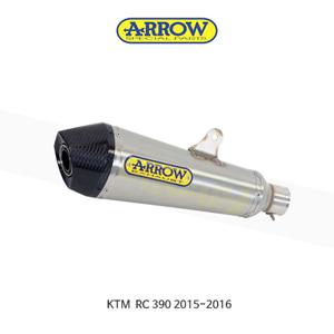 ARROW 애로우 SILENCER XKONE 스테인리스 스틸/ KTM RC390 (15-16) 71813XKI