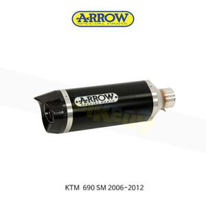 ARROW 애로우 SILENCER 레이스 테크 알루미늄 다크/ KTM 690SM (06-12) 72620AKN