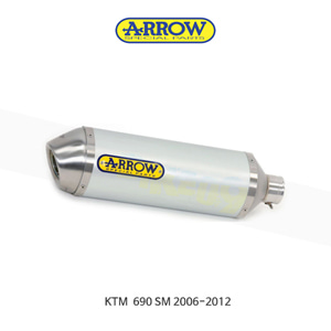 ARROW 애로우 SILENCER 레이스 테크 알루미늄/ KTM 690SM (06-12) 72620AK