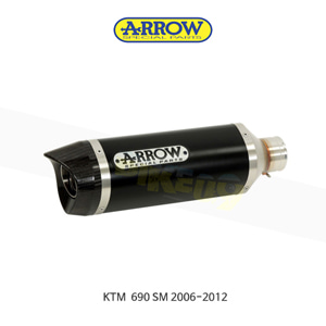 ARROW 애로우 SILENCERS 레이스 테크 알루미늄 다크/ KTM 690SM (06-12) 72619AKN