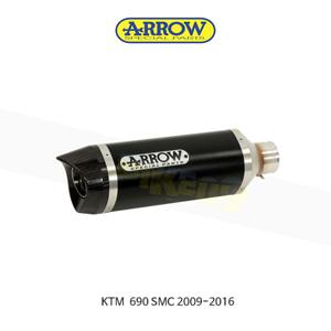 ARROW 애로우 SILENCER 레이스 테크 알루미늄 다크/ KTM 690SMC (09-16) 72618AKN