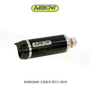 ARROW 애로우 SILENCER 레이스 테크 알루미늄 다크 카본/ 가와사키 Z800E (13-16) 71723AKN