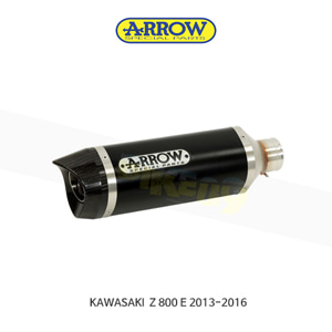 ARROW 애로우 SILENCER 레이스 테크 알루미늄 다크 이녹스/ 가와사키 Z800E (13-16) 71723AON