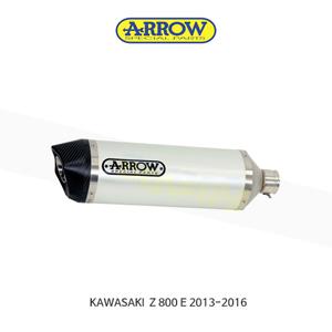 ARROW 애로우 SILENCER 레이스 테크 알루미늄 화이트 카본/ 가와사키 Z800E (13-16) 71723AKB