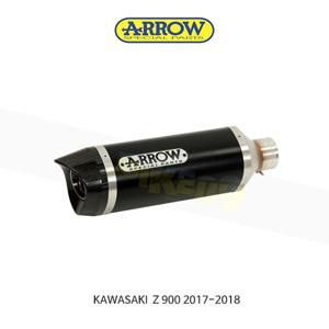 ARROW 애로우 SILENCER 레이스 테크 알루미늄 다크 이녹스/ 가와사키 Z900 (17-18) 71856AON