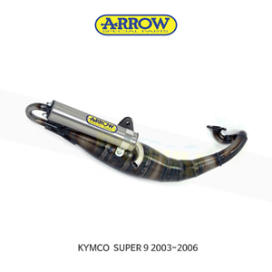 ARROW 애로우 COMPLETE EXHAUST 레이싱 익스트림 스탠다드/ 킴코 슈퍼9 (03-06) 33520ET