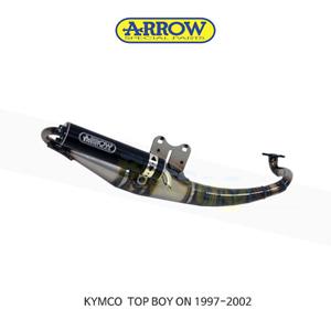 ARROW 애로우 COMPLETE EXHAUST 레이싱 익스트림 알루미늄 블랙/ 킴코 탑보이 ON (97-02) 33520EN