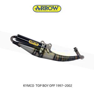 ARROW 애로우 COMPLETE EXHAUST 레이싱 익스트림 카본/ 킴코 탑보이 OFF (97-02) 33520EK