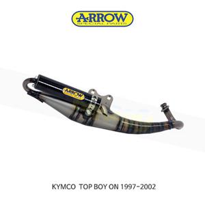 ARROW 애로우 COMPLETE EXHAUST 레이싱 익스트림 카본/ 킴코 탑보이 ON (97-02) 33520EK