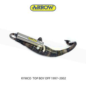 ARROW 애로우 COMPLETE EXHAUST 레이싱 익스트림 스탠다드/ 킴코 탑보이 OFF (97-02) 33520ET
