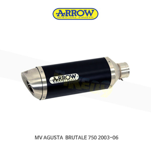 ARROW 애로우 SILENCER 레이싱 스트리트 썬더 알루미늄 다크 이녹스/ MV아구스타 브루탈레750 (03-06) 71110AON