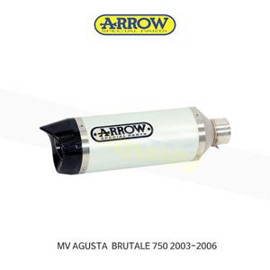 ARROW 애로우 SILENCER 레이싱 스트리트 썬더 알루미늄/ MV아구스타 브루탈레750 (03-06) 71110AK