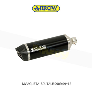 ARROW 애로우 SILENCER 레이싱 스트리트 썬더 알루미늄 다크 카본/ MV아구스타 브루탈레990R (09-12) 71110AKN