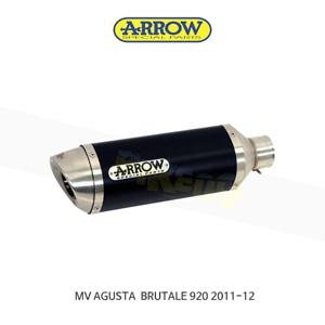 ARROW 애로우 SILENCER 레이싱 스트리트 썬더 알루미늄 다크 이녹스/ MV아구스타 브루탈레920 (11-12) 71110AON