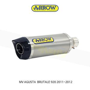 ARROW 애로우 SILENCER 레이싱 썬더 티타늄 이녹스/ MV아구스타 브루탈레920 (11-12) 71110PO
