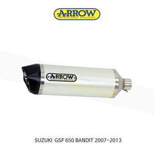 ARROW 애로우 SILENCER 레이스 테크 알루미늄 화이트 카본/ 스즈키 GSF650 밴딧 (07-13) 71822AKB
